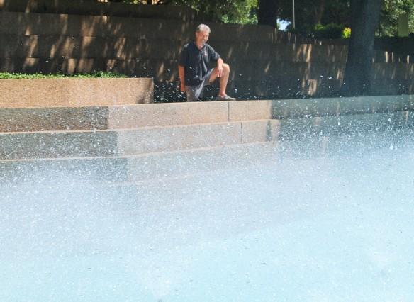 Whimsical Aerating Pool