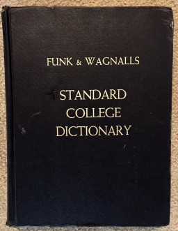 black dictionary
